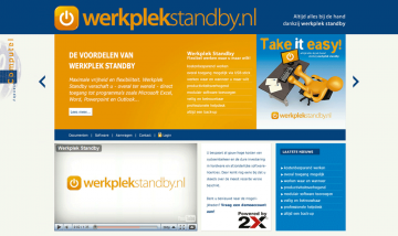 Website WerkPlek Standby
