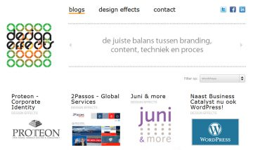 Design Effects Website
