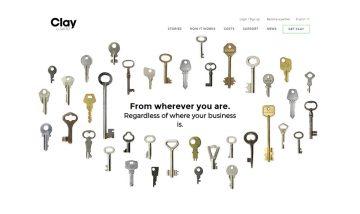 My Clay website